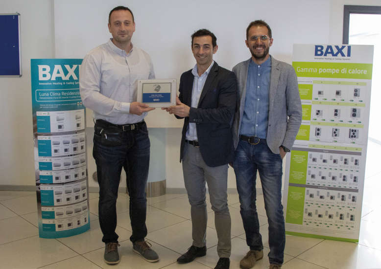 CIM GAS - BAXI Sales Award 2019